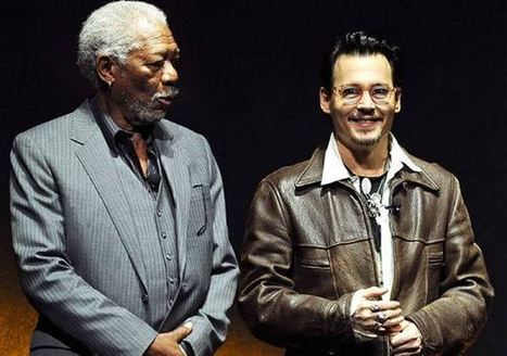 Morgan Freeman excited to work with his favourite actor Depp - indiatvnews.com | morgan freeman | Scoop.it