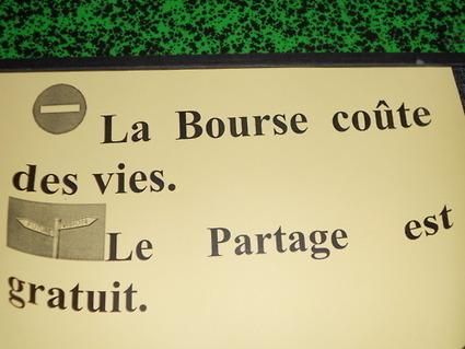 #4M La bourse coûte des vies, le partage est gratuit | #marchedesbanlieues -> #occupynnocents | Scoop.it