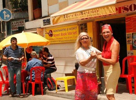 Montmartre in Monot - Street Book Market « Lebtivity | Lebanon | Scoop.it
