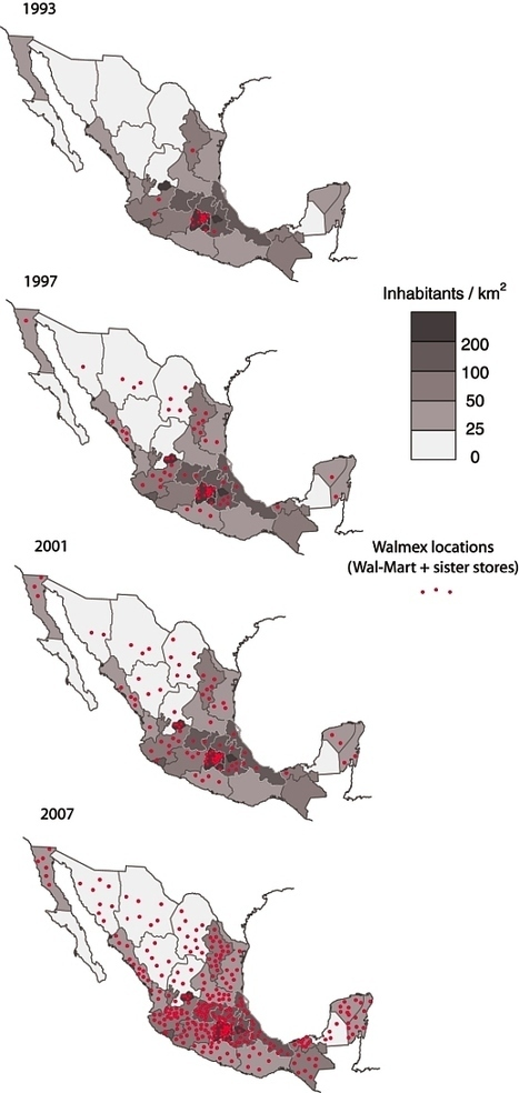 The growth and expansion of Wal-Mart in Mexico | Geo-Mexico, the geography of Mexico | IB Geography (Diploma Programme) | Scoop.it