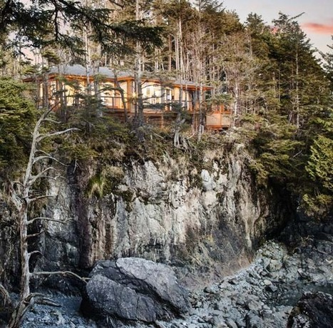 Stunning cliffside property overlooking the BC Coast | Location, Location, Location | Scoop.it
