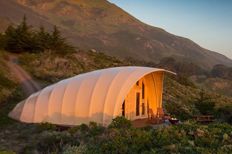 Autonomous Tent - Luxury Tent Can Be Raised In Days and Leave Without a Trace - SERIOUS WONDER | Futurewaves | Scoop.it