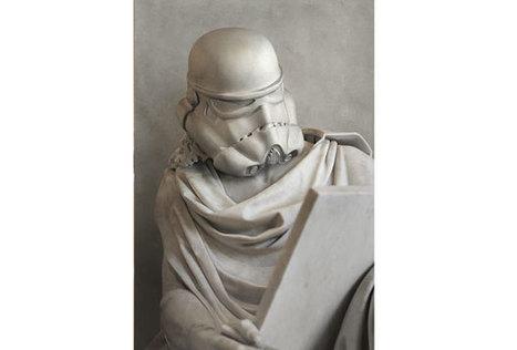 «Star Wars» et ses personnages réimaginés façon statues de l'Antiquité | Salvete discipuli | Scoop.it