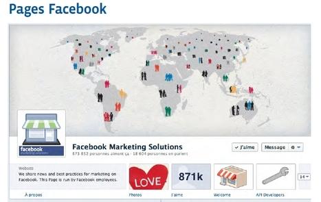 Facebook et son guide d'optimisation des pages en français | Social Media Curation par Mon Habitat Web | Scoop.it