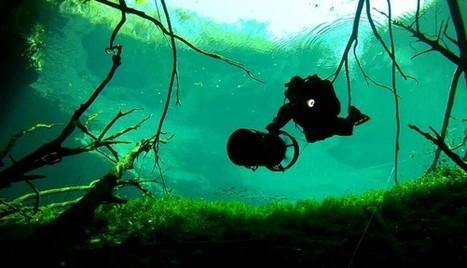 Diving the Cavern Zone - part 2 | plongee scuba diving tec diving | Scoop.it