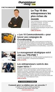 Conférence du Club Dynamique : Les secrets de ces entrepreneurs qui réussissent ! | e-commerce  entreprise | Scoop.it