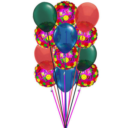 Thank You very much balloons | Gorgeous Flowers Bouquets and more | Scoop.it