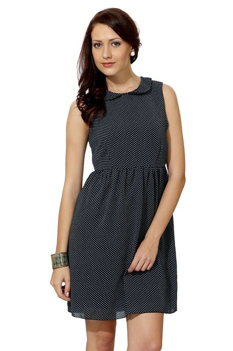 Navy Sleeveless Casual Dress With 40% OFF From Trendin | Online Shopping |  Best Deals | Coupons | Scoop.it