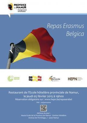 Repas Erasmus Belgica | Hepn - haute Ecole de la Province de Namur | centre de ressources pédagogiques | Scoop.it