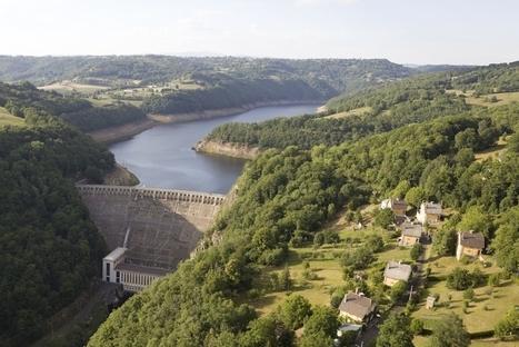 La vidange du barrage de Sarrans a commencé | L'info tourisme en Aveyron | Scoop.it