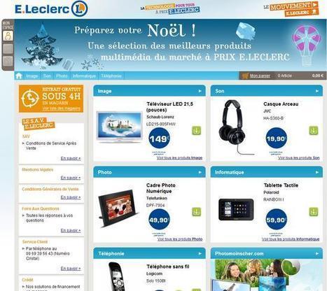 Michel Edouart Leclerc fait le point sur son premier test de vente en ligne   Web-to-Store   Innover pour se différencier et gagner de nouveaux clients   Scoop.it
