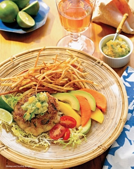 Ricky Lauren's Shrimp and Scallop Burgers 12... | Commodities, Resource and Freedom | Scoop.it