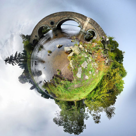 Mini planets: 3D 360-degree stereographic projections by David Jackson - Telegraph | Photographic | Scoop.it