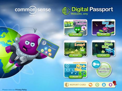 Digital Passport for Kids - Must Have App for Kids Online Safety by Common Sense Media | Digital Citizenship | Scoop.it
