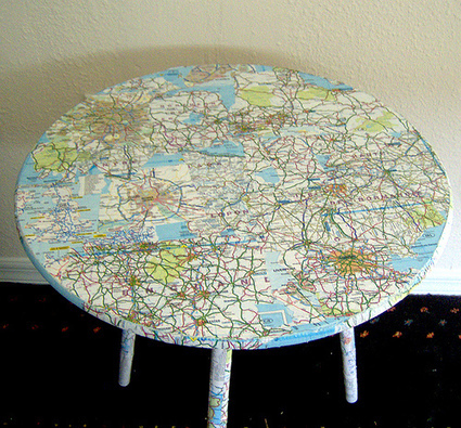 How to:  Decoupage Furniture and other Items | Crafts to Try | Scoop.it