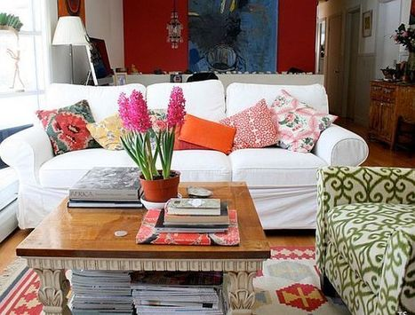 How to Mix Patterns Appropriately | Designing Interiors | Scoop.it