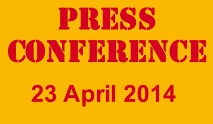 "Press Conference ""The Right to e-Read"", Brussels & The Hague, 23 April 2014 
