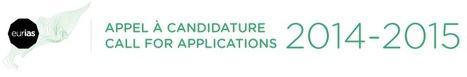 Eurias 2014-2015 / Call for applications / appel à candidature   Institut des Sciences sociales du Politique   Scoop.it
