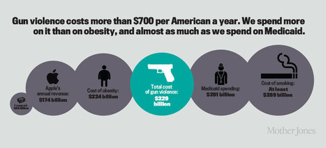 WEAPONS: how much does gun violence cost our country? | > Violence | Scoop.it