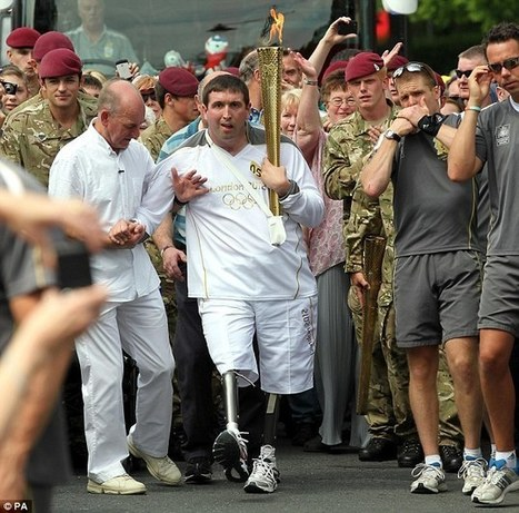 Britain's most injured soldier who lost his legs walks two miles a day | Special Needs | Scoop.it