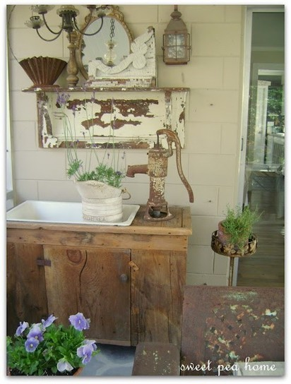 Country porch | Upcycled Garden Style | Scoop.it