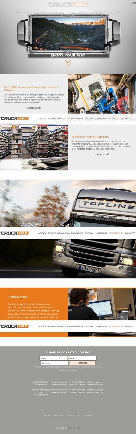 Truck Welt, un mondo di servizi per camion a Bolzano | geneticamultimedia | Scoop.it