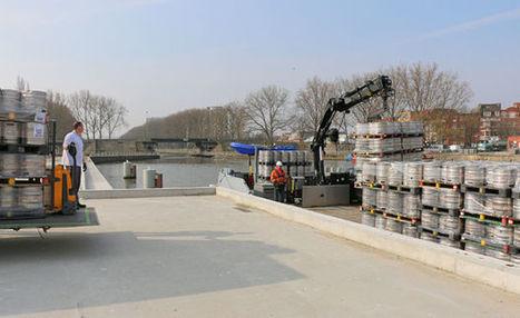 Bruxelles: la logistique urbaine par voie d'eau | Logistique et E-commerce | Scoop.it