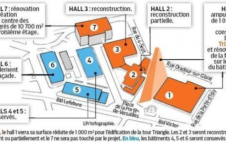 Le Parisien : Parc des Expositions, les 20 M€ qui dérangent | NON à la Tour Triangle | Scoop.it