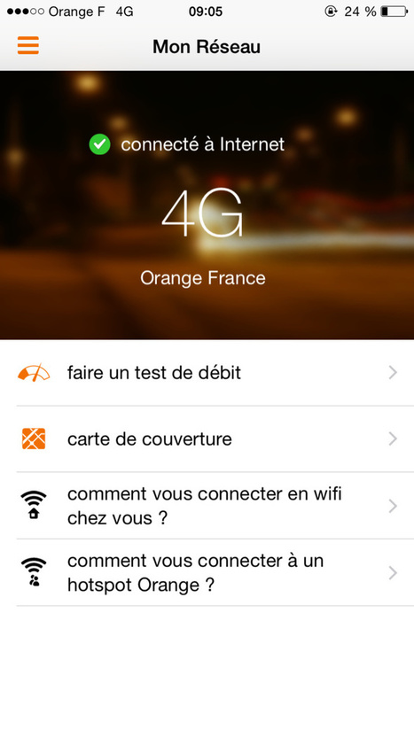 Mon Réseau - Orange améliore son application iOS et Android | HighTech Actus | Scoop.it