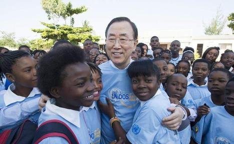 UN chief promotes education, gender empowerment during final day of ... - UN News Centre | Gender Inequality | Scoop.it