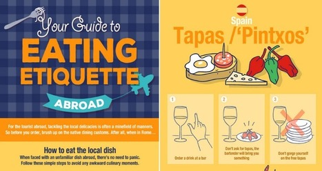 Infographic: How to Eat the Local Dish in Countries Around the World | Foodie Fun!! | Scoop.it