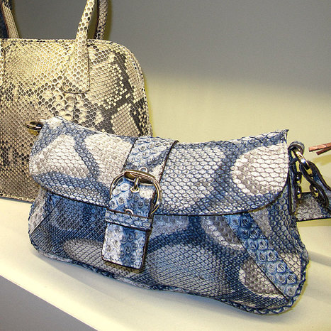 Exotic skin Handbags from Le Marche: Gleni Boutique, San Benedetto del Tronto | Le Marche & Fashion | Scoop.it