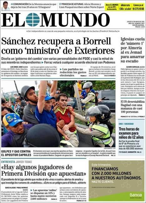 Los verbos que acabaron con el periodismo, la corrupción que mató un país | EL VIL METAL. | Scoop.it