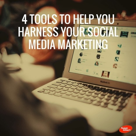 4 Tools to Help You Harness Your Social Media Marketing | The Social Network Times | Scoop.it