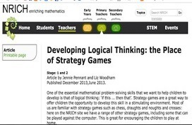 Excellent Strategy Games to Teach Kids Logical Thinking ~ Educational Technology and Mobile Learning | Edtech PK-12 | Scoop.it