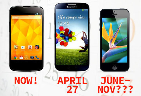 Phone Plan: Google Now, Samsung Soon or Apple Later? - Forbes | Smart Phones For IB | Scoop.it