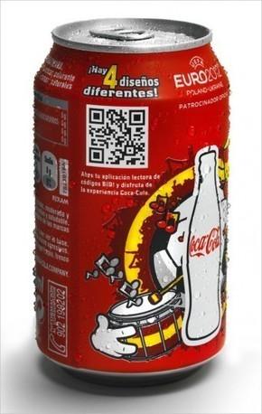 Coca-Cola : un QR Code sur les canettes espagnoles | QRdressCode | Scoop.it