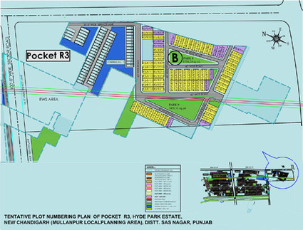 Site Layout - DLF Mullanpur Plots | DLF Hyde Park Mullanpur | DLF Hyde Park Mullanpur Chandigarh | Scoop.it