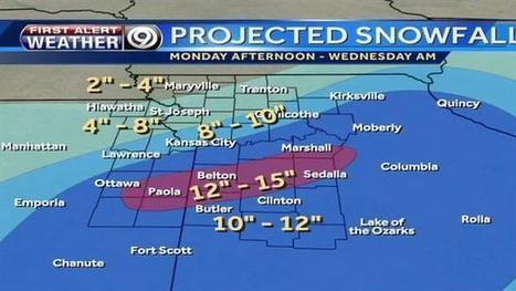 'Many rounds of heavy snow' moving through KC | Kansas City Talk | Scoop.it