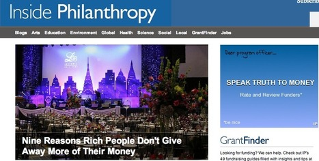 Challenging The Big Funders: Philanthropy Startup Targets Billionaires And ... - Forbes | Social Innovation Impact | Scoop.it
