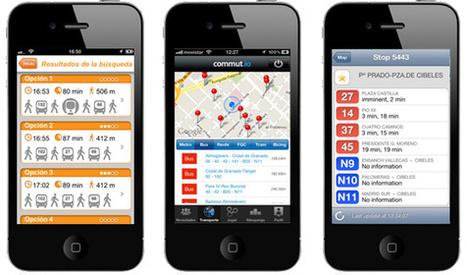 Apps para optimizar el uso del transporte público en las ciudades, ahorrando tiempo y ganando en comodidad | Ciudad inteligente | Scoop.it