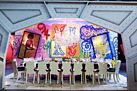 Living Style: Graffiti Glamour | OFF THE CANVAS DESIGN | Scoop.it
