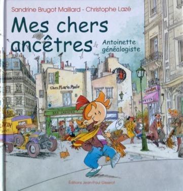 Livre : Les aventures d'une petite généalogiste   RoBot généalogie   Scoop.it