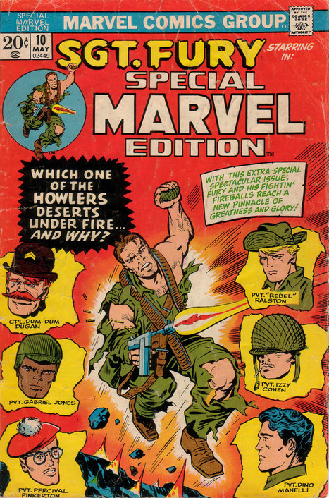"BENDIS! - comicbookcovers: Special Marvel Edition #10, May... | Jack ""King"" Kirby 