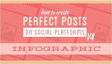 The Art of Creating Perfect Social Media Posts - infographic | Marketing digital | Scoop.it