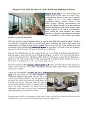 Property For Buy In Delhi NCR | propertyfromindia | Scoop.it