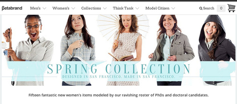 Clothing Company Uses Female Ph.D.s Instead Of Regular Models | Current Events | Scoop.it