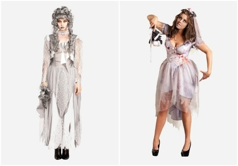 8 of the Best Corpse Wedding and Zombie Bride Costumes   Christmas, Halloween and All Things Festive   Scoop.it