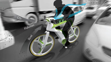 Purify The Air As You Ride, With This Photosynthesis Bike | Sustain Our Earth | Scoop.it