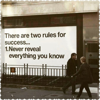There are two rules for sucess #sucesso #sucess by... | Relações Públicas & Marketing Digitais | Relações Públicas Digitais I Digital Fashion Specialist I Digital Marketing & Communication in Fashion | Scoop.it